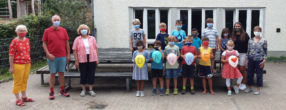 Ein Gartenhäuschen für die OGS in Altendorf-Ersdorf