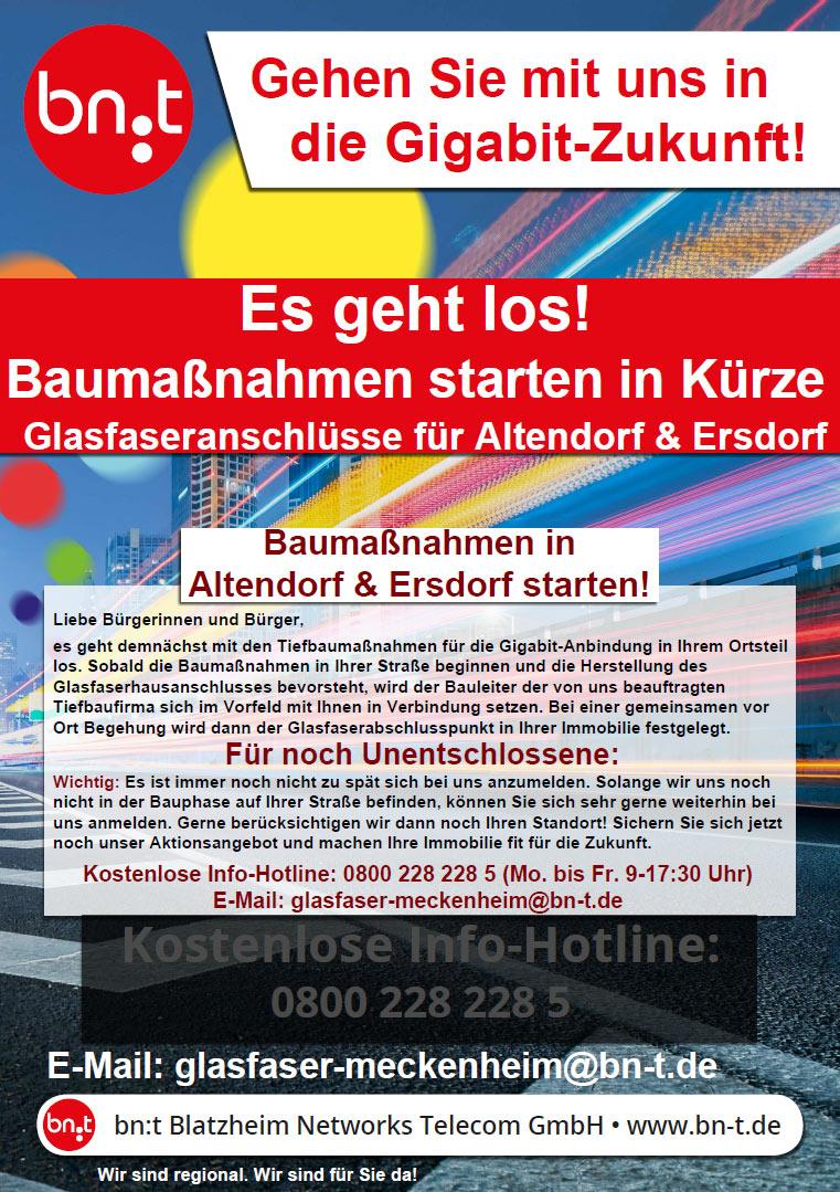 bn:t Glasfaser Altendorf Ersdorf