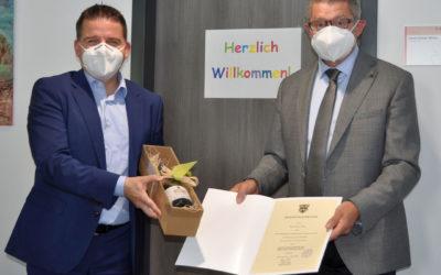 Dienstbeginn für Hans Dieter Wirtz