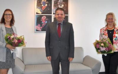 Bürgermeister begrüßt neue Fachbereichsleitung